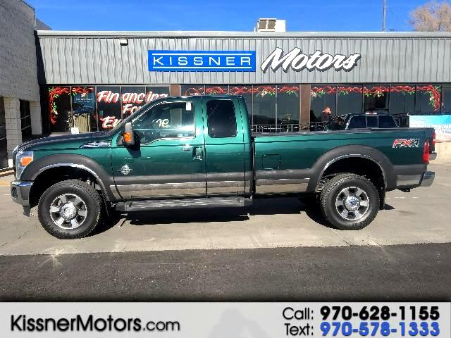 2012 Ford F-350 SD Lariat SuperCab Long Bed 4WD