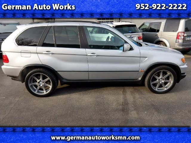 2001 BMW X5 4.4i