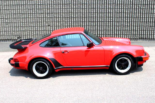 1986 Porsche 911 Turbo Turbo