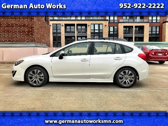 2016 Subaru Impreza 2.0i Premium 5-Door w/All Weather Package