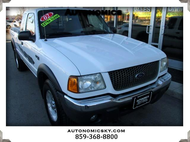 2002 Ford Ranger 4WD 4dr SuperCab 126