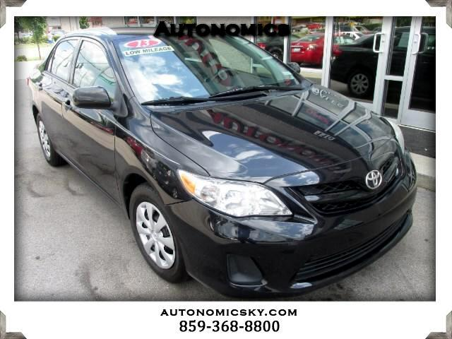 2013 Toyota Corolla 5-Speed MT