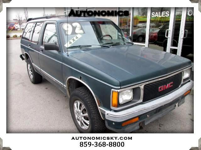 1992 GMC Jimmy 4-Door 4WD