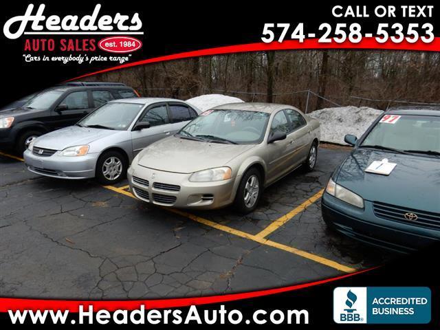 2002 Dodge Stratus Sedan SE Plus