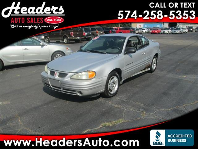 2001 Pontiac Grand Am SE coupe