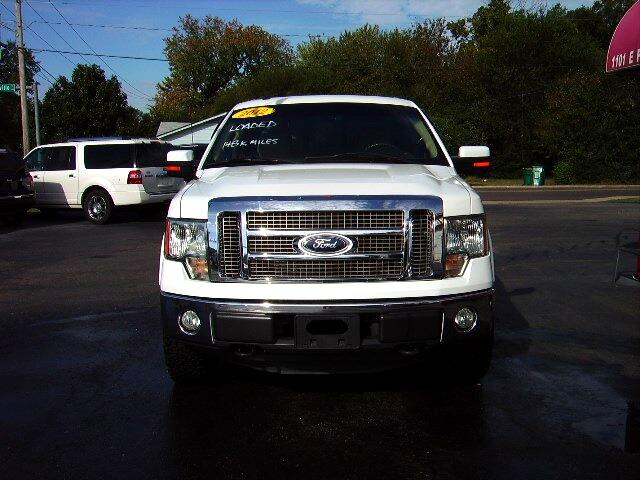 "2012 Ford F-150 4WD SuperCrew 150"" Lariat"