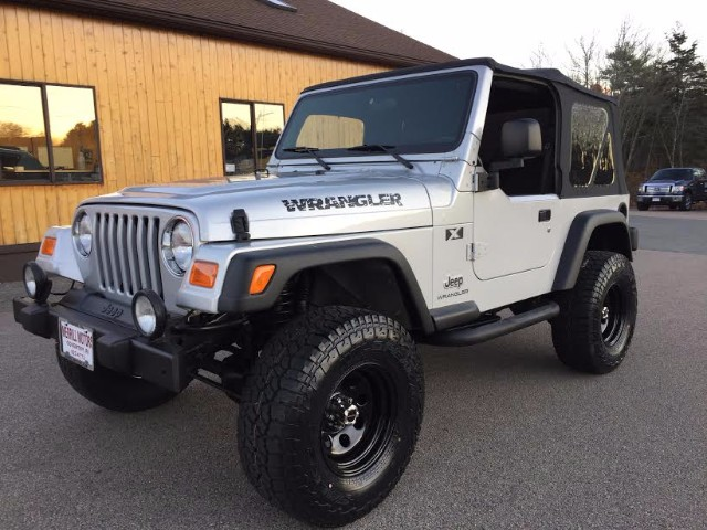 Used 2003 Jeep Wrangler X For Sale In Coventry Ri 02816
