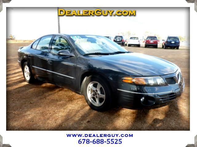 2000 Pontiac Bonneville SE
