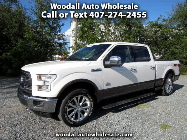 2015 Ford F-150 4WD SuperCrew 157 King Ranch