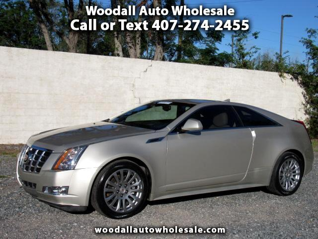 2013 Cadillac CTS 2dr Cpe Performance RWD