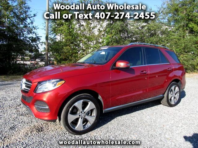 2016 Mercedes-Benz GLE-Class RWD 4dr GLE 350