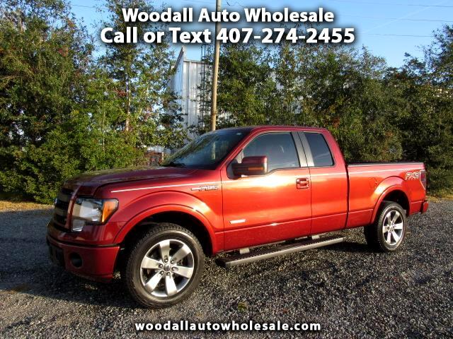 2014 Ford F-150 2WD SuperCab 145 FX2
