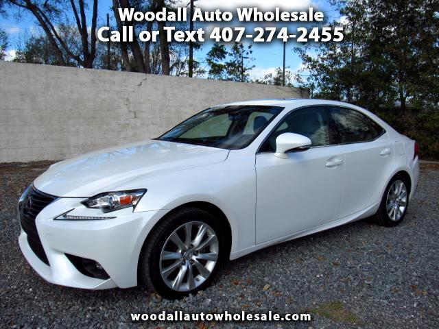 2015 Lexus IS 4dr Sport Sdn RWD
