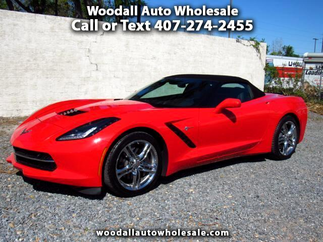 2017 Chevrolet Corvette 2dr Stingray Conv w/3LT
