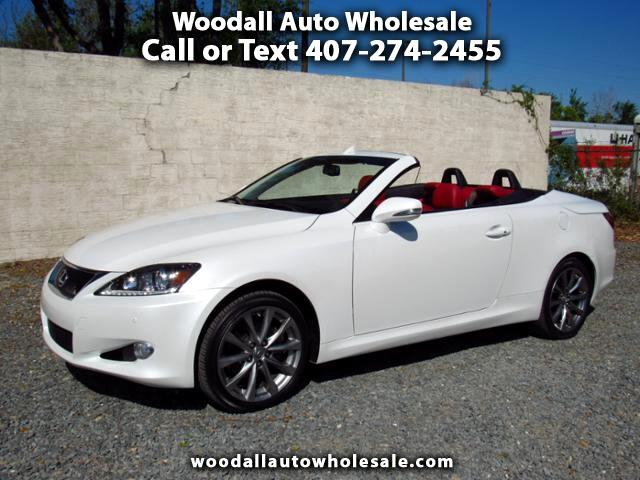 2015 Lexus IS C 2dr Conv