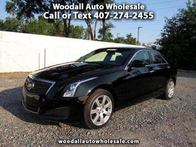 2014 Cadillac ATS 4dr Sdn 2.5L Standard RWD