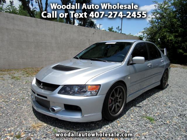 2006 Mitsubishi Lancer 4dr Sdn Evolution IX Manual