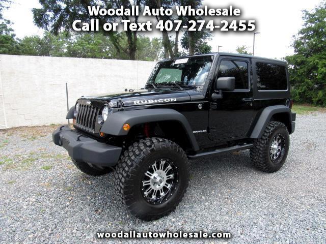 2013 Jeep Wrangler 4WD 2dr Rubicon