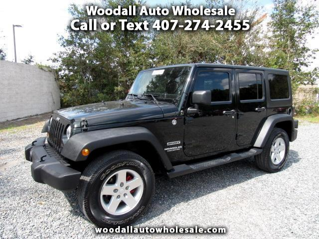 2012 Jeep Wrangler 4WD 4dr Sport