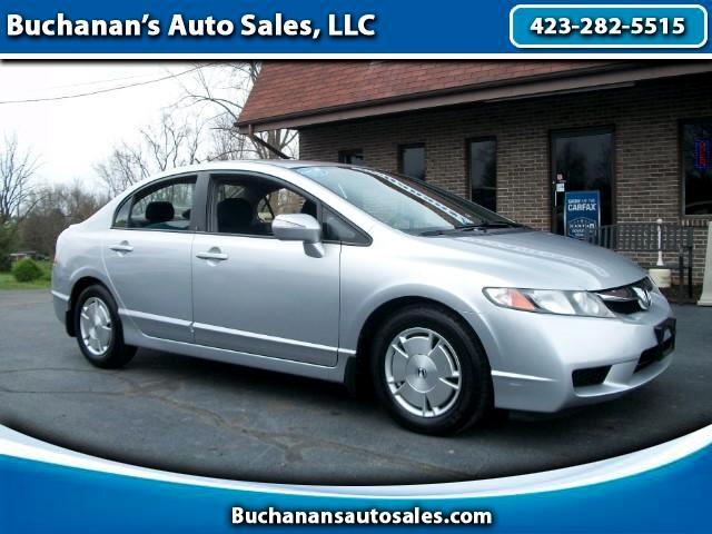 2011 Honda Civic Hybrid CVT AT-PZEV