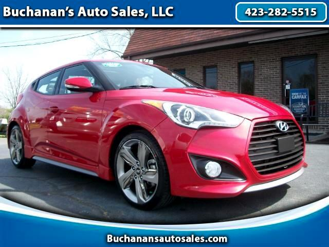 2013 Hyundai Veloster 3dr Coupe w/Turbo