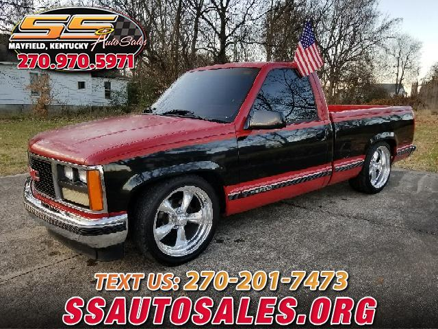 1988 GMC Sierra 1500 Ext. Cab Short Bed 2WD