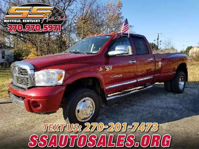 2008 Dodge Ram Pickup 3500 Quad Cab 4WD