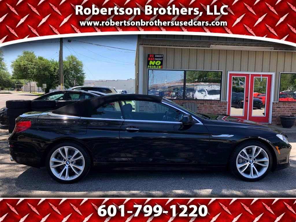 2013 BMW 6-Series 640i Convertible