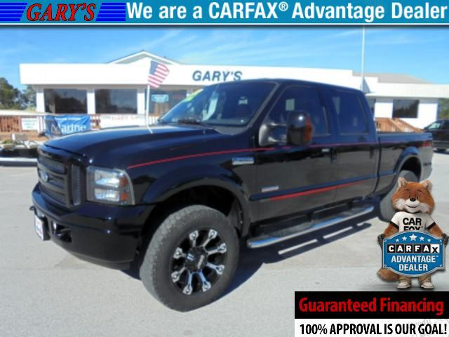 2007 Ford F-250 SD Lariat Crew Cab FX-4 Out Law Edition 4wd
