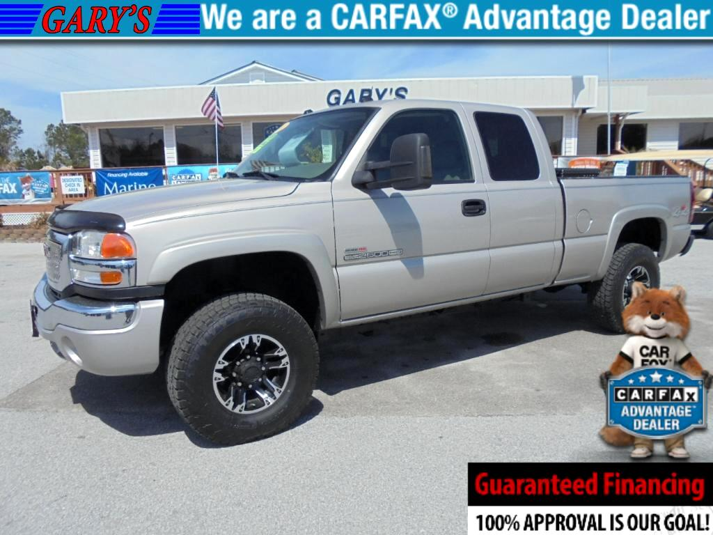 2004 GMC Sierra 2500HD SLT Ext. Cab Short Bed 4WD