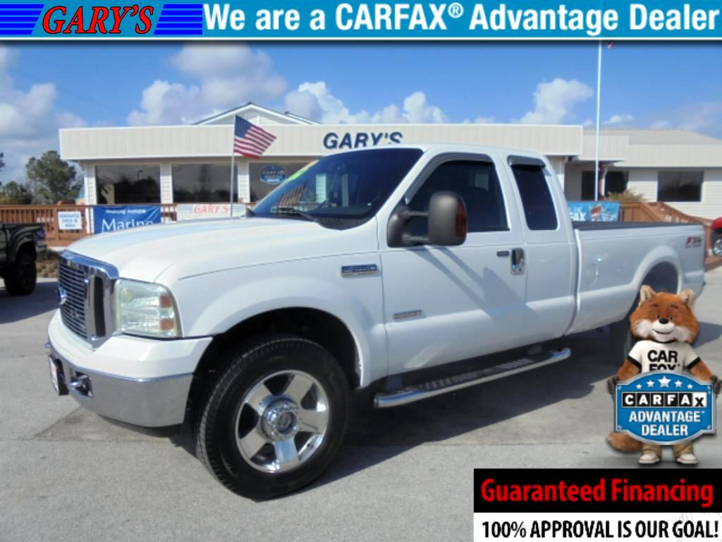 2007 Ford F-250 SD Lariat SuperCab Long Bed 4WD