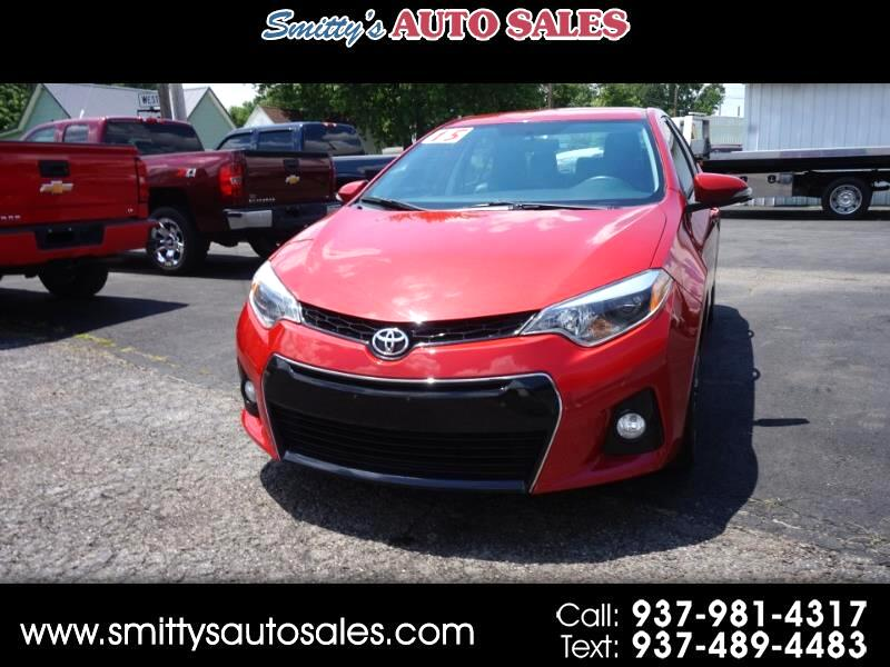 Toyota Of Greenfield >> Used 2015 Toyota Corolla For Sale In Greenfield Oh 45123 Smitty S