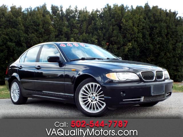 2002 BMW 3-Series 330xi Sedan