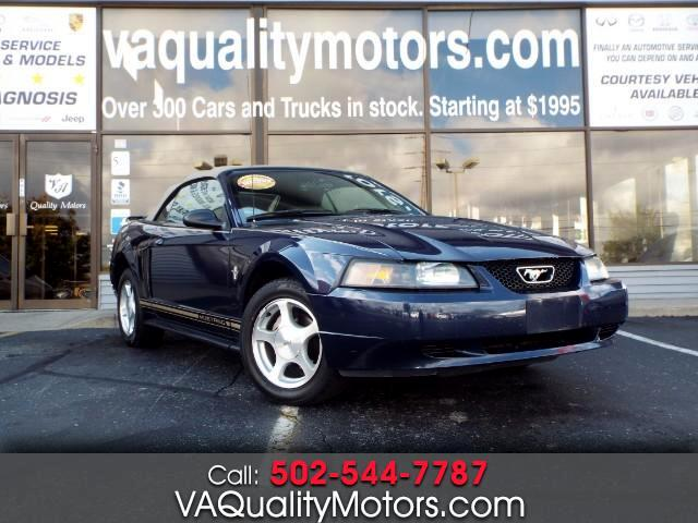 2001 Ford Mustang Deluxe Convertible