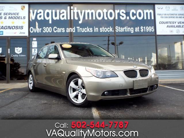 2006 BMW 5-Series 525i