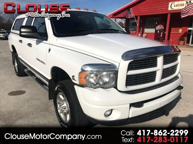2003 Dodge Ram 2500 Laramie Quad Cab Short Bed 4WD