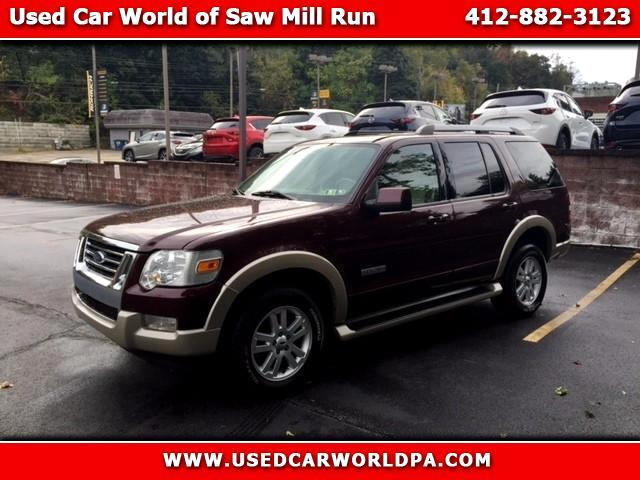 2007 Ford Explorer Eddie Bauer 4.0L 4WD & Used Cars for Sale Pittsburgh PA 15210 Used Car World markmcfarlin.com