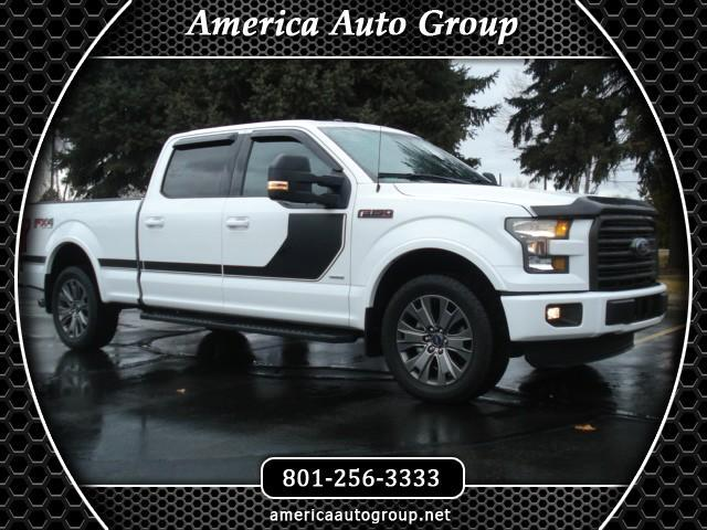 2016 Ford F-150 FX4 SPORT XLT SUPERCREW 6.5 FT BED 4WD