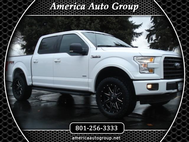 2017 Ford F-150 FX4 SPORT XLT SUPERCREW 5.5-ft. BED 4WD