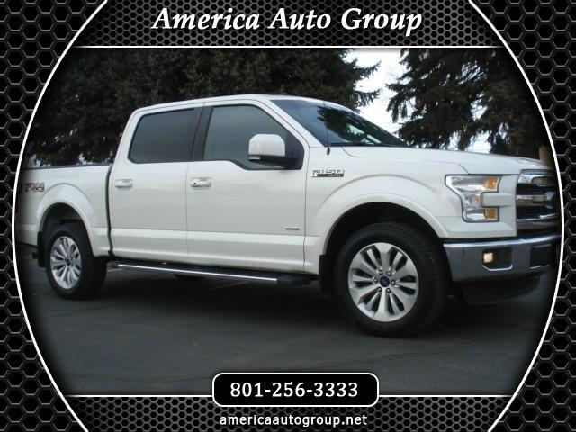 2016 Ford F-150 LARIAT SUPERCREW MAX TOW 4WD ECOBOOST