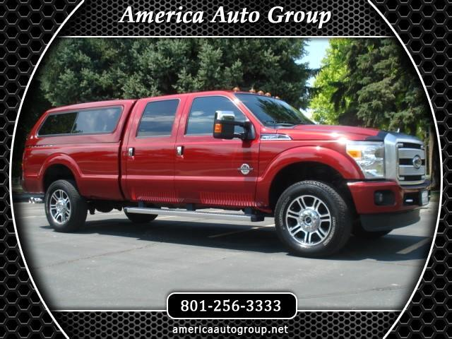 2016 Ford F-350 SD PLATINUM LARIAT CREW CAB LONG BED 4WD
