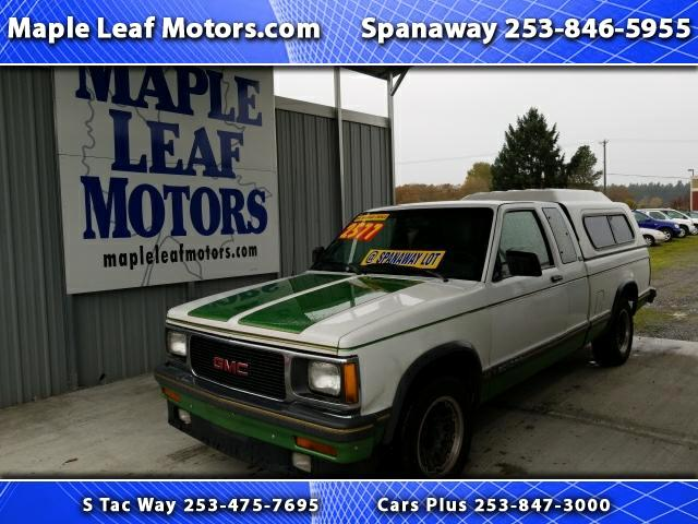 1993 GMC Sonoma Club Coupe 2WD