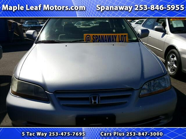 2001 Honda Accord LX sedan with ABS