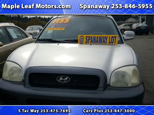 2002 Hyundai Santa Fe GL