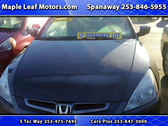 2004 Honda Accord EX-L Sedan AT with XM Radio