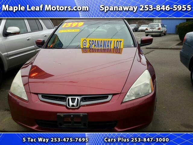 2003 Honda Accord EX-L Sedan AT with Navigation System