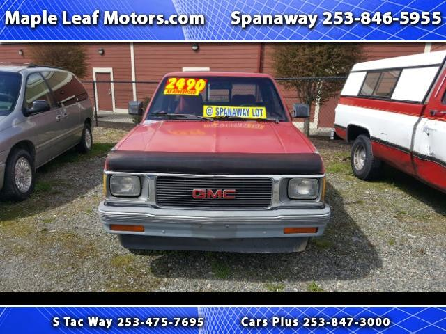 1991 GMC Sonoma Club Coupe 2WD
