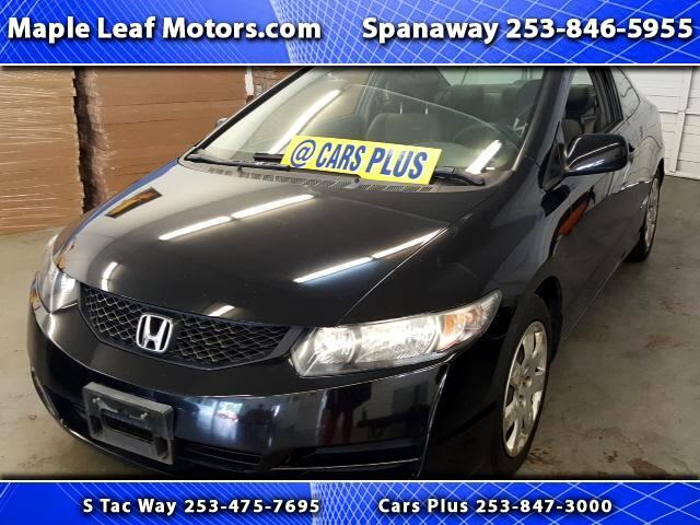 2010 Honda Civic LX Coupe 5-Speed MT
