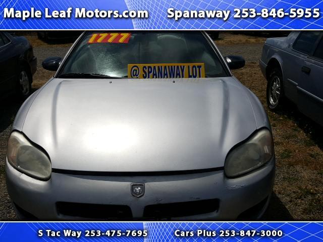 2002 Dodge Stratus SXT Coupe