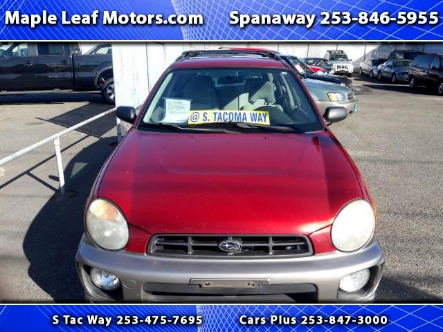 2003 Subaru Outback Sport